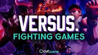 Versus. | Kyle vs. Zach in Fighting Games