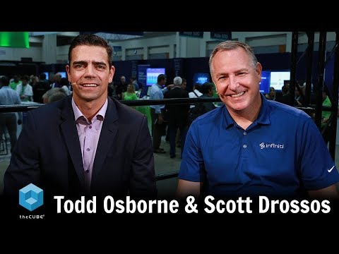 Todd Osborne, New Relic & Scott Drossos, Infiniti | AWS Public Sector Summit 2018