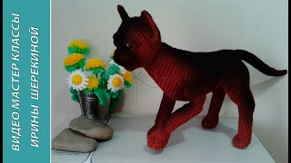 Кішка Бурма, 3 ч.. Cat Burmese, р. 3. Amigurumi. Crochet. Амігурумі. Іграшки гачком.