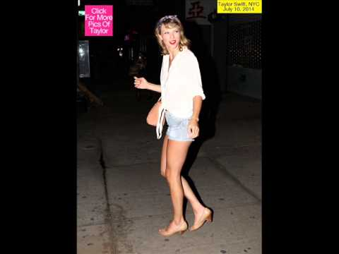 Taylor Swift Flaunts Long, Tan Legs In Tiny Shorts Out In NYC