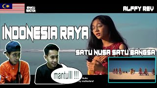 Mantull !!! Alffy Rev - Indonesia Raya Satu Nusa Satu Bangsa Feat. Misellia | Malaysia reaction