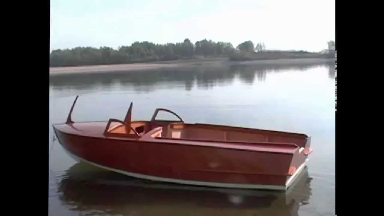 15' wooden runabout for outboard building project - YouTube