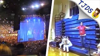 Bernie Crowds vs Hillary Crowds -- A Depressing, Hilarious Comparison