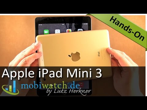 Apple iPad Mini 3: Unterschiede zum Vorgänger und zum Air 2 – deutsch