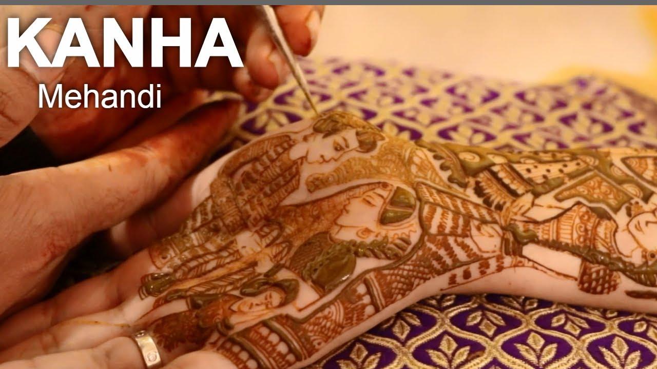 Latest Bridal Hand Mehandi By Kanha Mehandi 2020