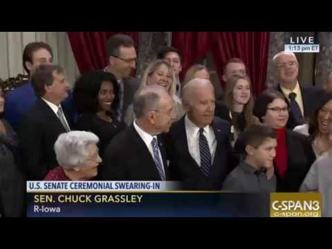 Creepy Biden Swears In Senators of the 115th Congress   SUPERcuts! #409