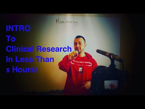 The Only Crash Course To Clinical Research You'll Ever Need (full 5 Hour OFFICIAL Video)
