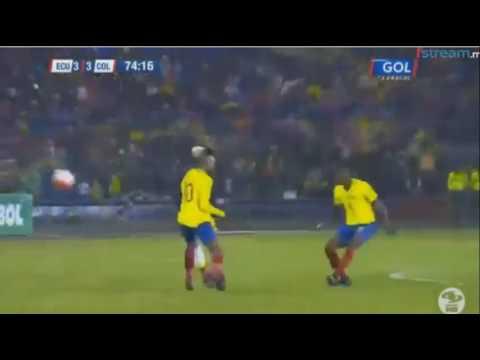 Gol de Ever Valencia - Ecuador 3 x 3 Colombia - Sudamericano Sub 20