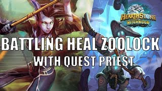 Heal Zoolock is the new deck to Beat | Quest Priest