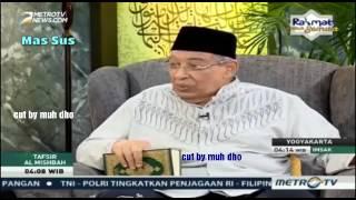 Quraish Shihab - Pembelaan Beliau terhadap Sayyidah Aisyah & ktitik Terhadap yg mencela nya