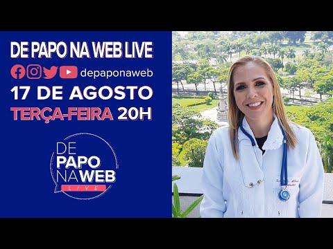 DE PAPO NA WEB LIVE - ENTREVISTA: ROSELI ABREU