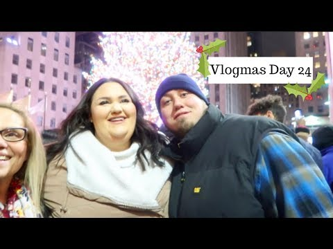Vlogmas Day 24⎢Christmas In NYC!