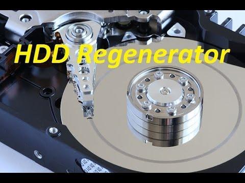 Как восстановить поврежденные сектора программой HDD Regenerator
