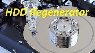 Как восстановить поврежденные сектора программой HDD Regenerator(Видео о программе HDD Regenerator, это одна из программ которая способна восстанавливать поверхность жесткого..., 2014-02-20T18:15:33.000Z)