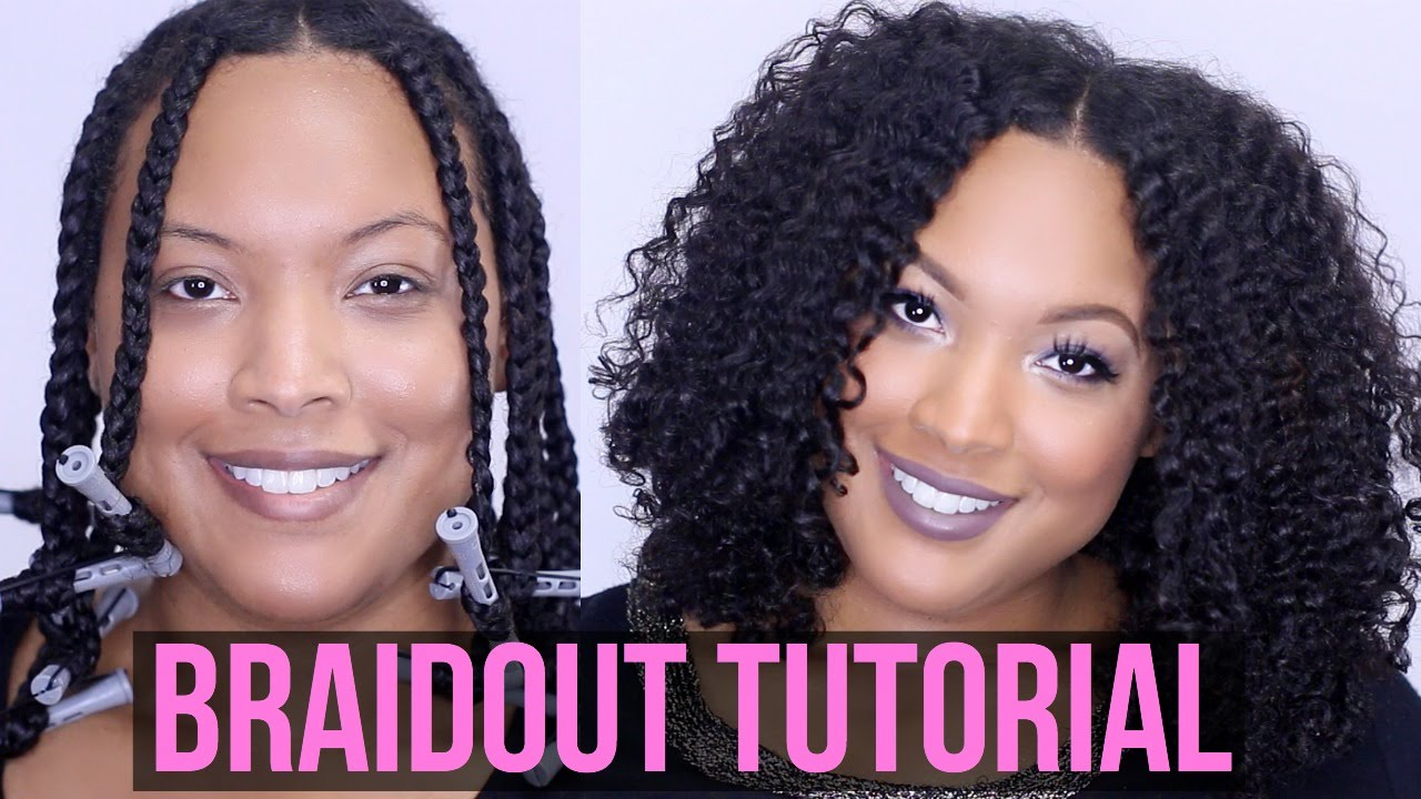 How To Get The PERFECT BRAIDOUT Natural Amp Transitioning