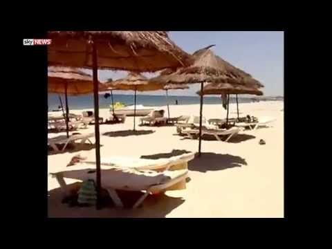 New videos show #Sousse terrorist inside the hotel looking for targets to kill!