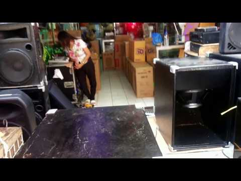 Subscope 18 Subwoofer Box with P Audio IMF18W 600watts - Berklyn Electronics Manila Demo Unboxing
