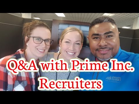 Q&A with Prime Inc. Recruiters
