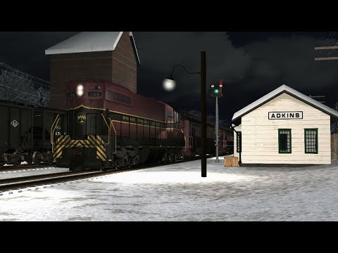 TS2019 - Riverside, Waterton & Atlantic Railroad Winter