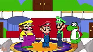Waluigi nicht in Super Mario 64 DS
