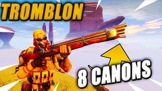 The Tromblon at the 8 Cannons Must Take It? Fortnite Saving the World