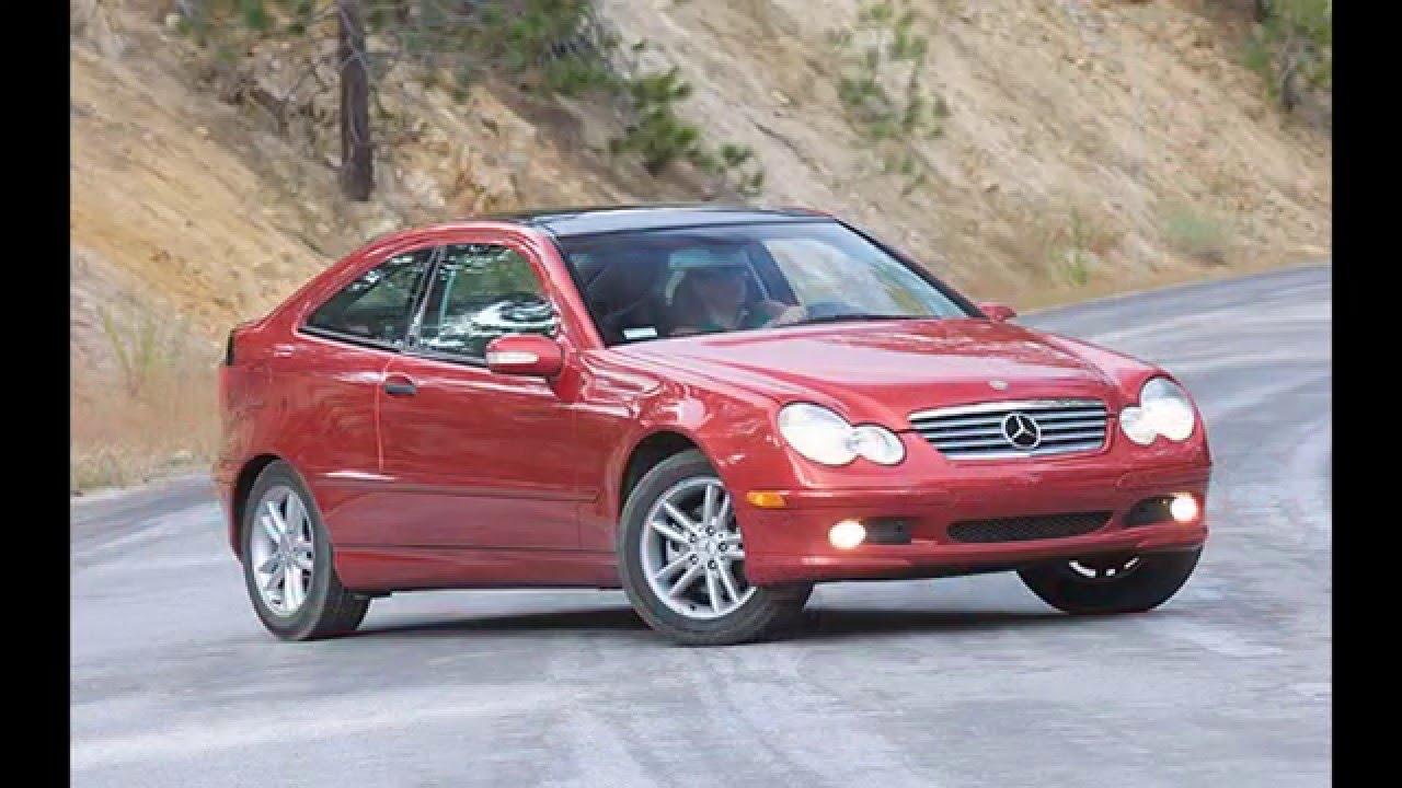 2002 Mercedes Benz C230 Kompressor Sports Coupe