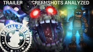 New FNAF AR Gameplay Trailer & Screenshots Analyzed (Five Nights at Freddy's AR Special Delivery)