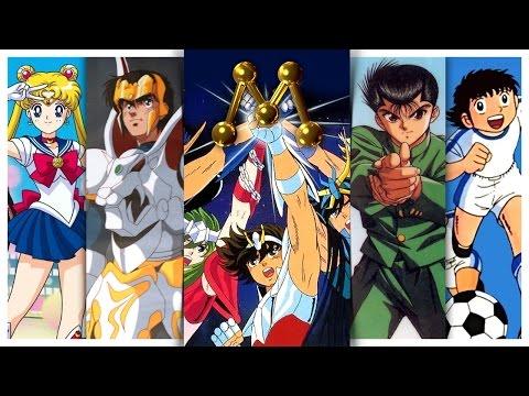 Todos os animes da Rede Manchete | Nostalgia