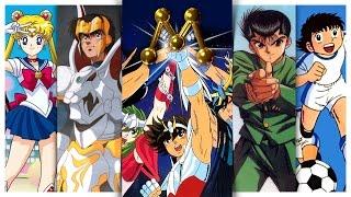 Todos os animes da Rede Manchete   Nostalgia