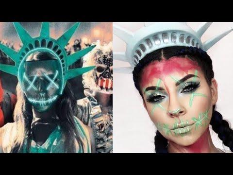 PURGE Halloween Makeup Tutorial