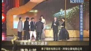 45屆金馬獎年度傑出電影工作者獎、年度傑出電影獎(頒獎人林青霞、李安)