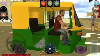 Driving School : 2018 Indian Truck Auto - Rickshaw Parking Levels Android GamePlay FHD