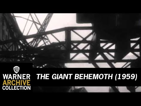 THE B-MOVIE NEWS VAULT: THE GIANT BEHEMOTH Emerges from the