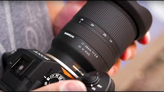 Tamron 17-28mm f2.8 Hands-On Lens Review