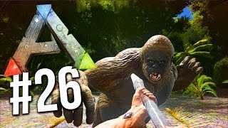 ARK: Survival Evolved - FINDING BIGFOOT! Ark Survival TAMING Gigantopithecus! (Ark Survival Evolved)