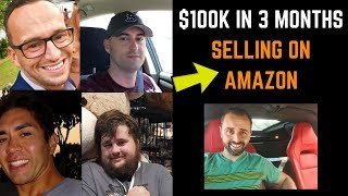 How To Sell $100K in 3 Months on Amazon FBA
