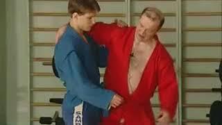 Уроки самбо Гончаров 09   Подхват под одну ногу
