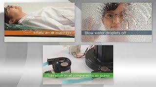 マイクロブロワ ダイジェスト版(5分) ~空気動圧軸受による驚愕のパフォーマンス~  | 日本電産コパル電子(株)