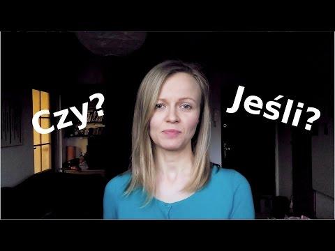 Polish lesson with Dorota: CZY / JEŚLI - A1/A2