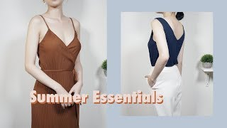 夏季必备基本款 | 利用率超高的单品分享 | Summer Wardrobe Essentials