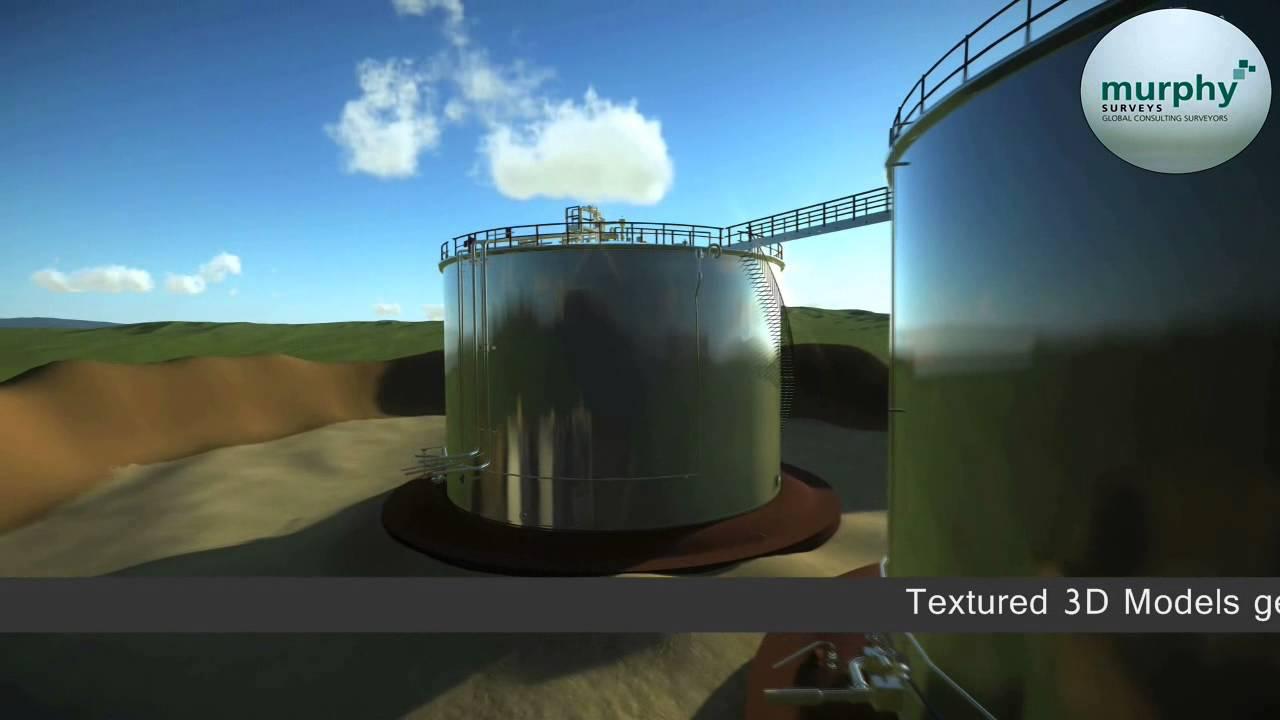 3D CAD Models of Storage Tanks