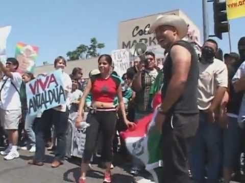 Illegal alien mob defends racist monument in Baldwin Park, CA Part 3 of 3