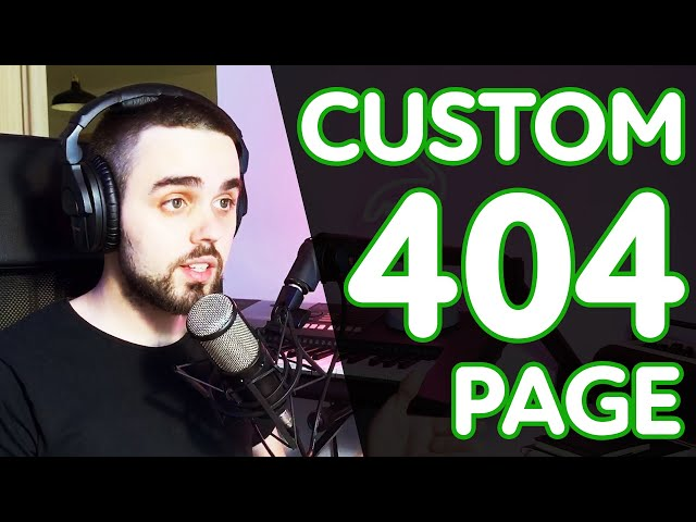 Creating a custom 404 Page with Neve and Neve Pro