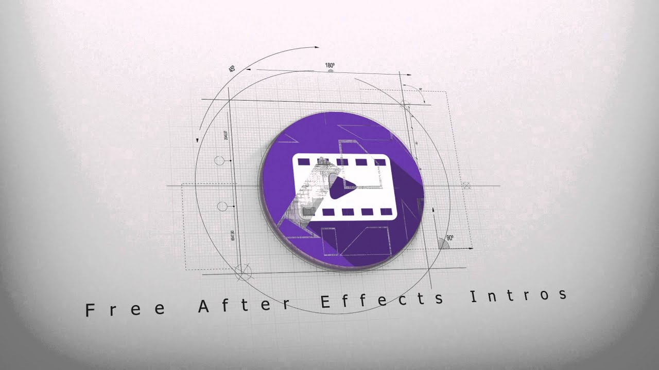 Free architect logo reveal intro 3 after effects for Free after effects logo templates