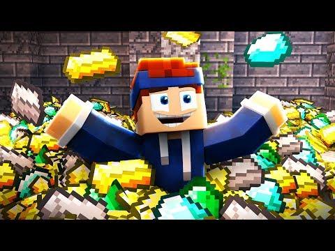 ICH SCHWIMME IN GOLD! (Minecraft)