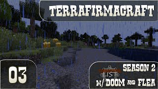 Minecraft Terrafirmacraft - Season 2 Multiplayer - Ep 03 - Scenic Beach of Death