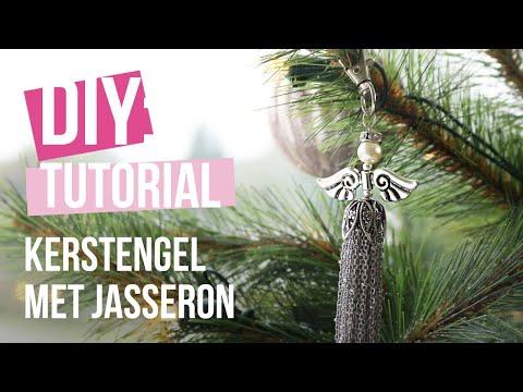 Sieraden maken: Kerstengel maken met jasseron ♡ DIY