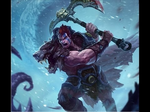 Woad King Darius new skin League of Legends - YouTube