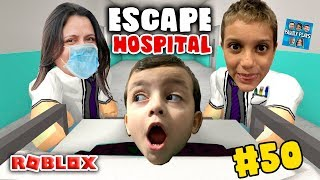 Roblox - FUGINDO DO HOSPITAL (Escape the Hospital Obby) Family Plays
