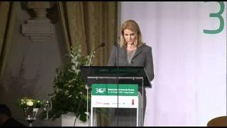 Danish Prime Minister Ms. Helle Thorning-Schmidt - 3GF Opening